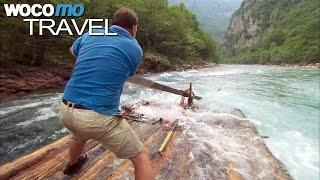 Auf dem Floß durch die Schluchten der Tara (360° - GEO Reportage)