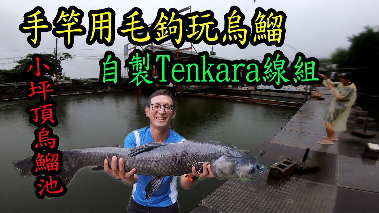 手竿也能用毛鉤釣上大烏鰡、大鯉魚,教您DIY自製Tenkara線組  (飼料毛鉤)
