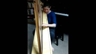 Clocks (Coldplay) - Celtic harp, Jessica Wright