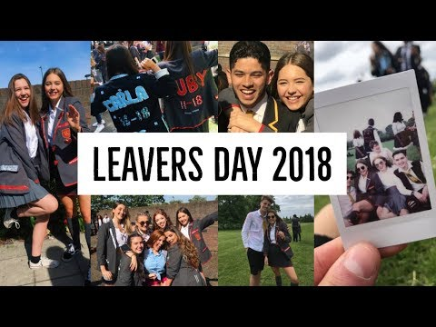 LEAVERS DAY 2018