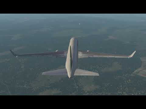 Let's Fly: X-Plane 11 - Boeing 767-300-ER [FlightFactor/VMAX] - Brussels To Gatwick - Part 3