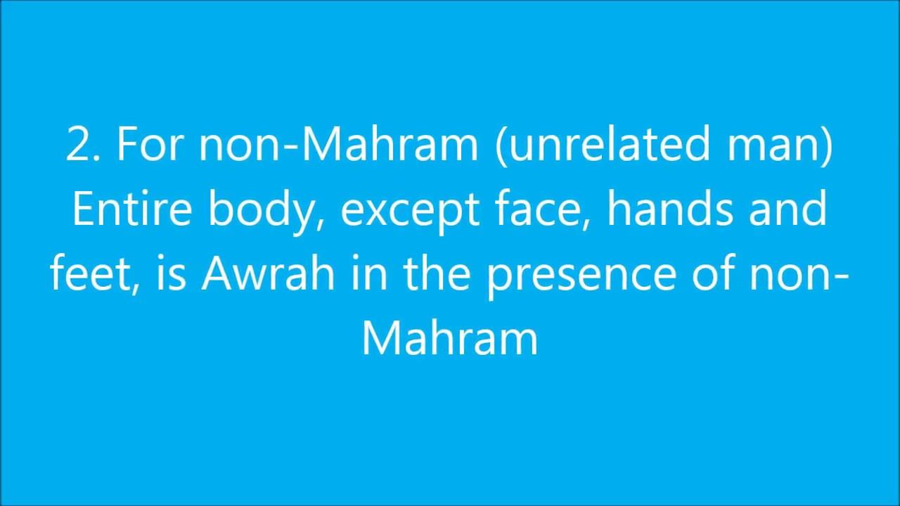 Awrah Of A Woman