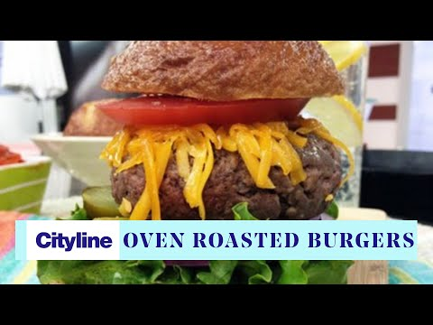 The 20 Minute Oven-roasted Burger