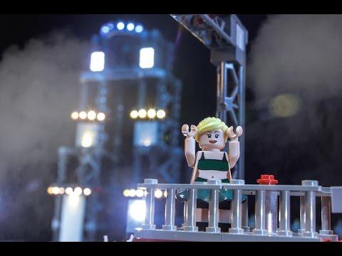 Jessie Graff Takes on Vegas Finals – LEGO NINJAGO - American Ninja Warrior