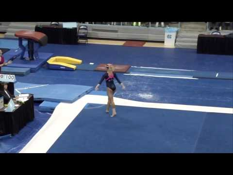 2014 NCAA Women's Gymnastics - North Carolina vs. Pittsburgh (720p)_NastiaFan101