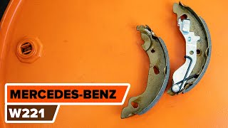 Hvordan og når bytte Håndbrekksko bak og foran MERCEDES-BENZ S-CLASS (W221): videoopplæring