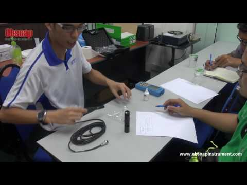 Dissolved Oxygen Meter HI9146 Training by Obsnap Instruments