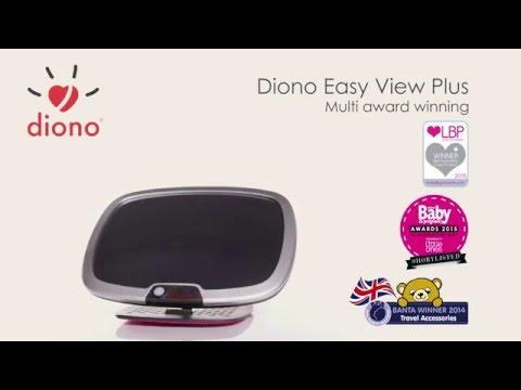 Diono Baby R/ückspiegel Easy View Silver