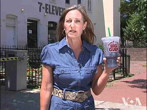 New York's Sugary Drink Ban Targets Obesity