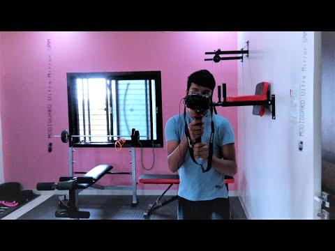 My Home Gym Installation & Tour || All Necessary Equipment || Complete Home Gym Setup || #Vlog 5 ||