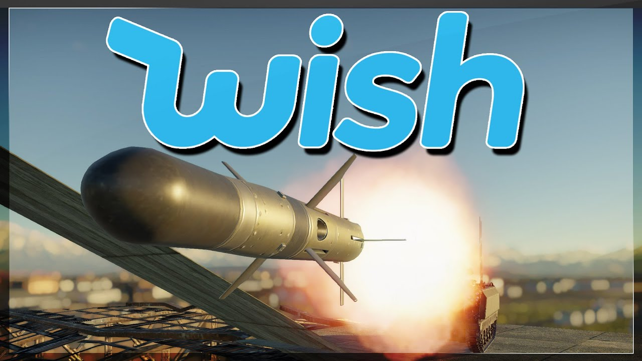 DISCOUNT JAVELIN MISSILE FROM Wish.com (War Thunder Top Missile Squirt)