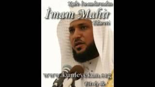Vakıa Suresi imam mahir kraatinden