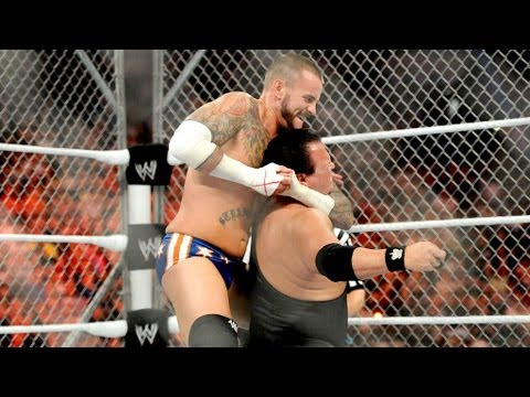 CM Punk vs. Jerry Lawler: Raw, Aug. 27, 2012 - Steel Cage
