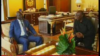 George Oppong Weah calls on Ghana's President Akufo-Addo