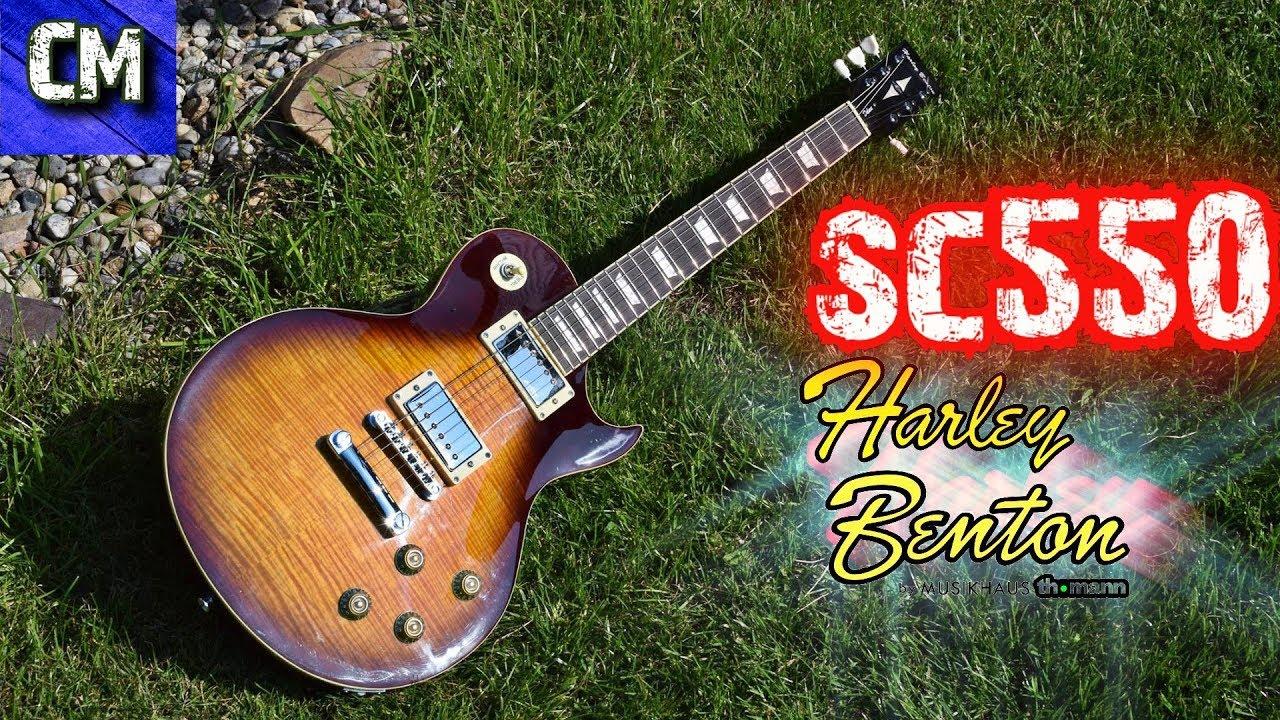 Gitarren-TüV - Harley Benton Sc550
