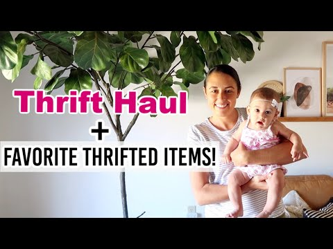 summer-thrift-with-me-|-haul-+-home-decor-thrift-tour