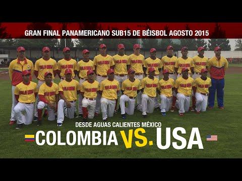 Colombia Sub Campeón Panamericano Sub 15 - Agosto 2015