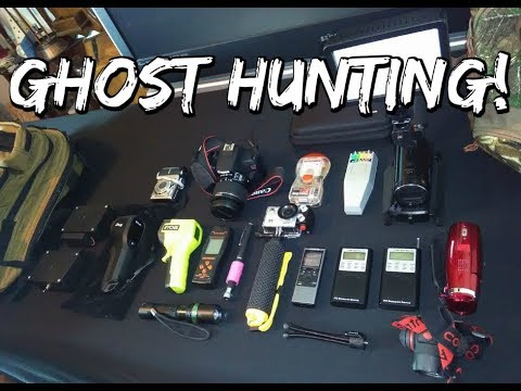 My Ghost Hunting Equipment (AND HUNTING ON A BUDGET) 👻