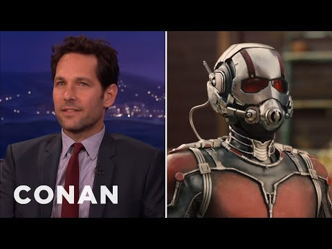 "Paul Rudd's EXCLUSIVE ""AntMan""    CONAN on TBS"
