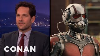 "Paul Rudd's EXCLUSIVE ""Ant-Man"" Clip  - CONAN on TBS"