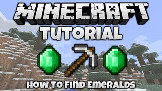 Minecraft Tutorial || How To... Find Emeralds In Minecraft
