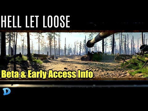 HELL LET LOOSE : Big Update Beta information & Early Access Some Thoughts