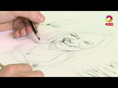 ¿Te animás a adivinar a quién dibujamos hoy?