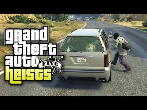 Grand Theft Auto V Heists - Part 25 - Vern Goes Ice Skating (Heist #5 Pacific Standard Job)