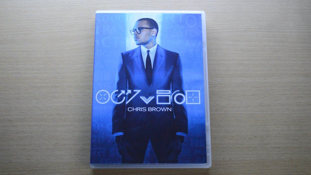 UNBOXING: Chris Brown - Fortune (DVD)