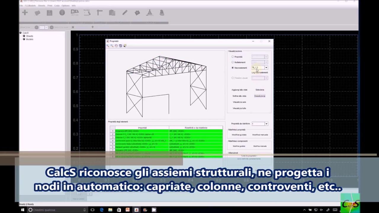 Dal tuo software fem al progetto esecutivo youtube for Progetto software