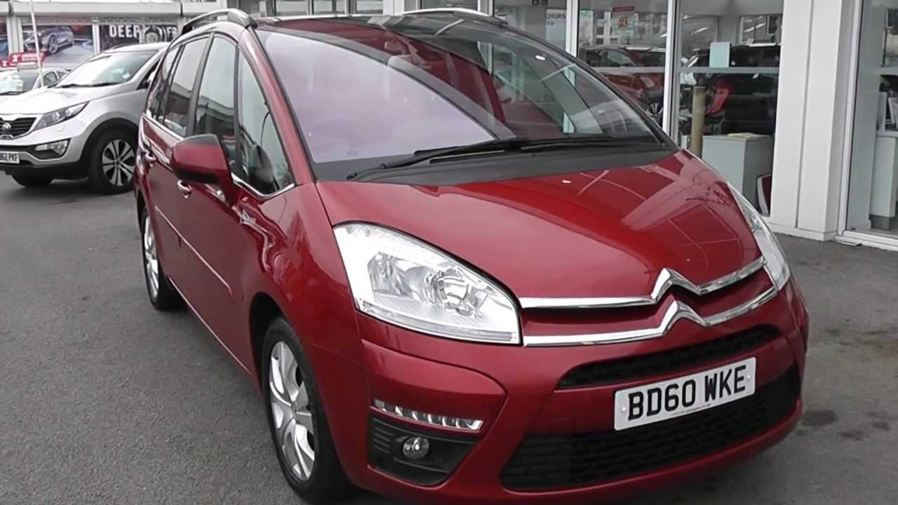 used car citroen c4 grand picasso red bd60wke wessex garages feeder road bristol. Black Bedroom Furniture Sets. Home Design Ideas