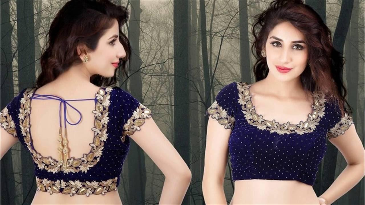 Top Latest Blouse Designs For Lehenga Choli