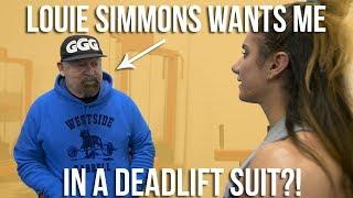 Louie Simmons Wants Me In A Deadlift Suit?! | Westside Barbell