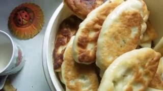 Пирожки с картошкой, с капустой жареные - это не сложно! [Мои секретики]