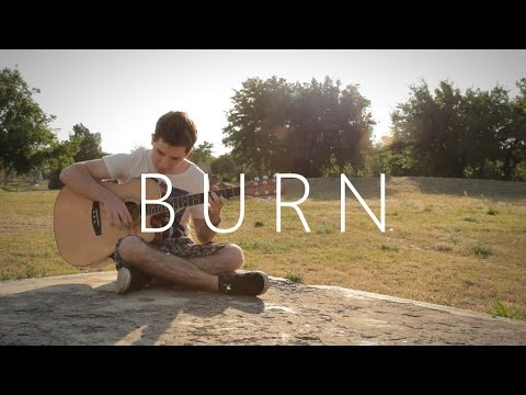 burn - ellie goulding (fingerstyle guitar cover by peter gergely)