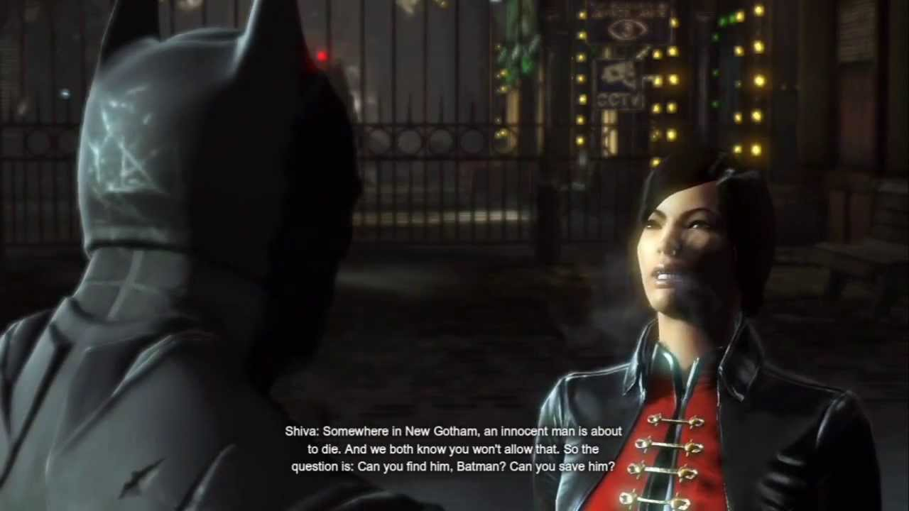 Batman Arkham Origins: Meeting Lady Shiva