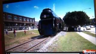 n 611 test run to greensboro nc and send off party at the north carolina transportation museum