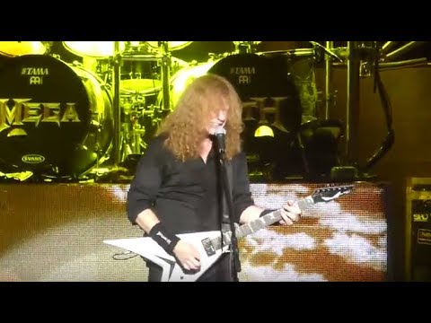 "MEGADETH video/setlist - Sept 16, Madison Square Garden, NY - ""Crazy World Tour"""