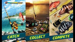 Extreme Sport Fishing: 3D Game. Fishing simulator Android Gameplay