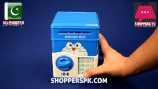 Electronic Mini Deposit Machine Money Box in Pakistan