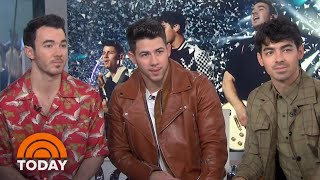 Download Jonas Brothers Dish On Music, Marriage, And 'Happiness Begins' Tour | TODAY Mp3 and Videos
