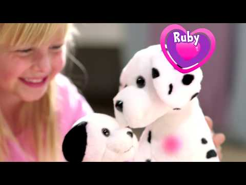 Animagic Ruby Lottie Interactive Dalmatian Mother Pup The Entertainer Youtube