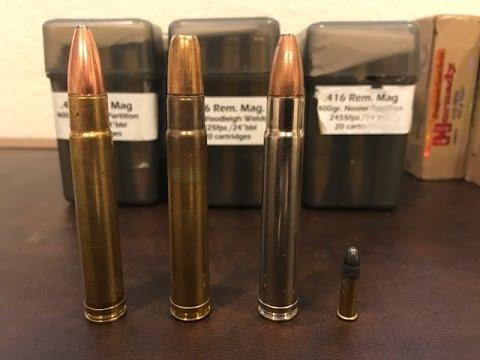 Cool Guns: Custom 416 Remington Magnum Dangerous Game Rifle