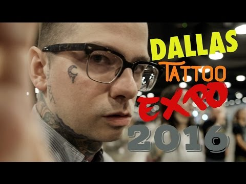 Dallas Tattoo Expo 2016 - Vlog
