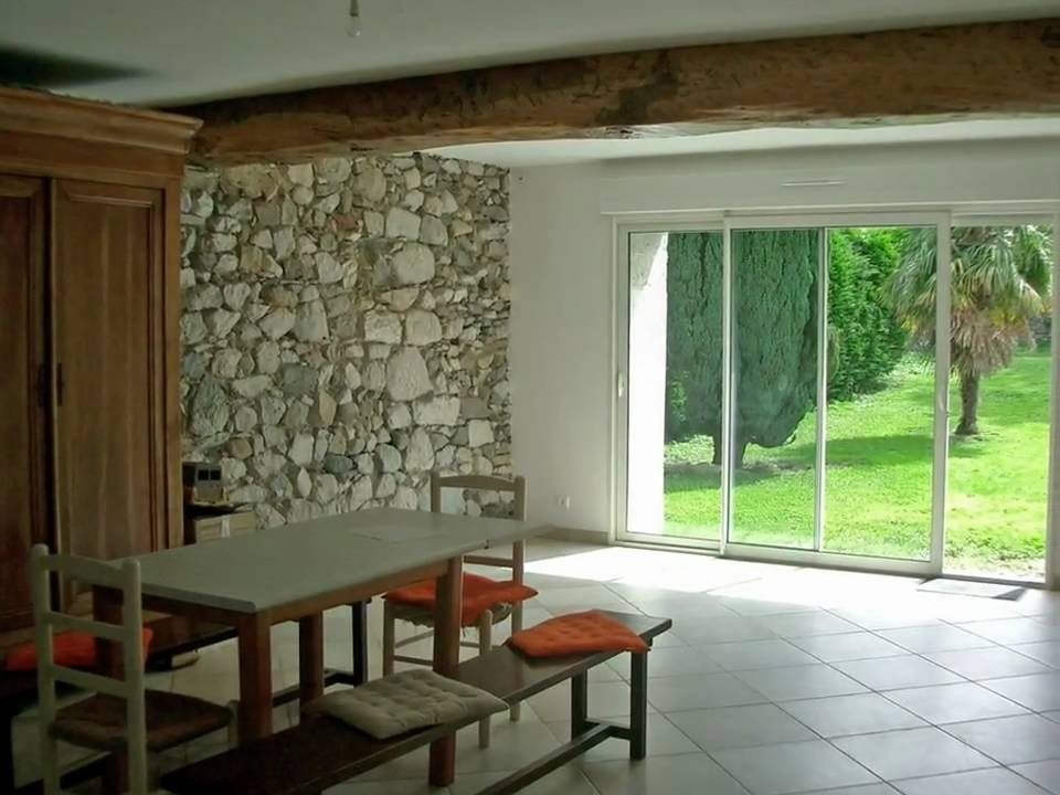 1543 maison de village ancienne rénovée - youtube - Photo Maison Renovee Avant Apres