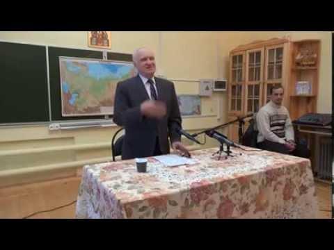 А.И. Осипов. Анекдот про священника и сторожа