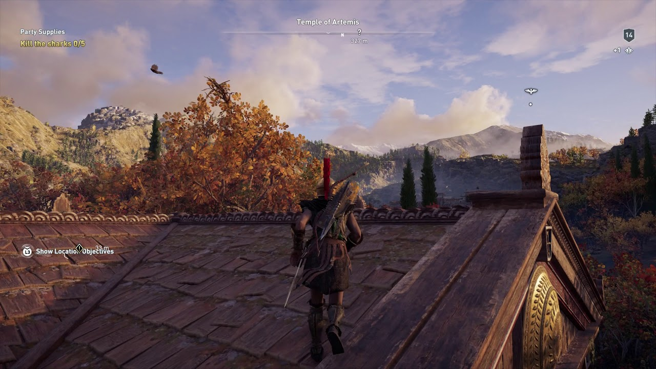 Assassin S Creed Odyssey Synchronize Temple Of Artemis Fast
