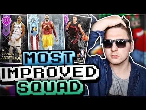 MOST IMPROVED PLAYERS SQUAD! ft. CJ, GIANNIS & PG13! NBA 2K18