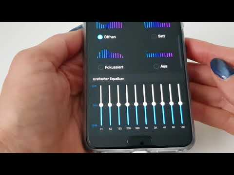 Huawei P20 Pro Equalizer finden und nutzen