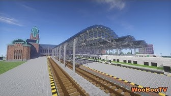 Minecraft - Helsingin rautatieasema